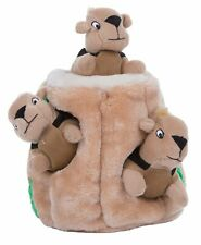 Outward Hound Hide-A-Squirrel and Puzzle Plush L
