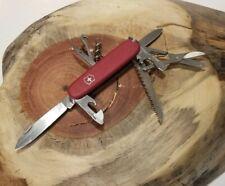 Red Matte Victorinox Huntsman Swiss Army Knife - Good Condition - P31