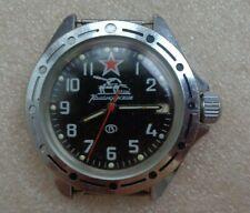 Russian watch WOSTOK Komandirskie TANK BLACK STAR classic vintage
