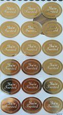 36x Gold You Are Invited Seals Labels Stickers on Party Wedding Invitation Card