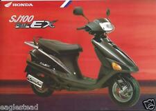 Scooter Brochure - Honda - Sj100 Bali Ex - c1995 (Dc408)