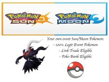 Pokemon Ultra Sun and Moon XY ORAS Almia Darkrai Pokemon Ranger Event Pokemon
