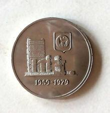 Rm1 Malaysia 20th Anniv.of Bank Negara coin # 182