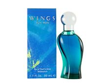 Giorgio Beverly Hills Wings for Men EDT Spray 50ML Brand New Sealed FREE P&P