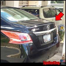 Rear Trunk Lip Spoiler Wing (Fits: Nissan Altima 2013-15 4dr) 244L SpoilerKing