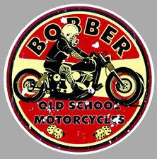 STICKER BOBBER BIKER HOT ROD CHOPPER VINTAGE RETRO MOTO RIDE FREE BB028