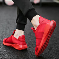 Men's Casual Athletic Sneakers Outdoor Sports Running Walking Shoes Lazy Slip On