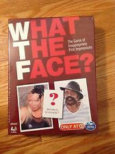 WHAT THE FACE BOARD GAME OF INAPPROPRIATE FIRST IMPRESSIONS NEW IN SEALED BOX