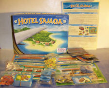 Z-MAN games HOTEL SAMOA game designed by KRISTIAN R. A. OSTBY