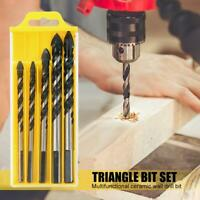 5pcs Alloy Hole Saw Drill Bits for Ceramic Wall Glass Concrete Hole Opener