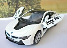 Wedding Day Gift Personalised Page Boy Usher Name BMW i8 Boy Toy Car Boxed