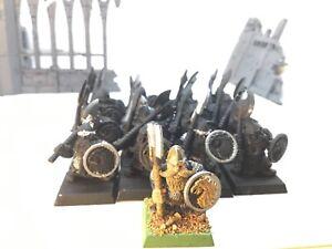 Dwarf Warriors Regiment Dwarfs Warhammer Dwarves Cities of Sigmar OOP