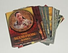 THE SCORPION KING - COMPLETE BASE SET (72 Cards) - Inkworks (2002)