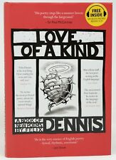 Felix Dennis, Eric Gill / Love Of a Kind / Signed First Edition 2013 Poetry