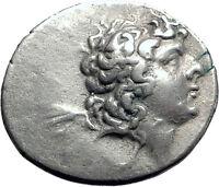 ARIARATHES IX son of Mithdates VI of Pontus Cappadocia Silver Greek Coin i63488