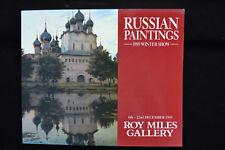 RUSSIAN ART WINTER SHOW ROY MILES GALLERY 1989 KAZTANTSEV TKACHENKO SOLDENTENKOV