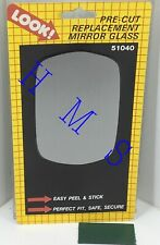 MOTOMITE DORMAN 51040 RIGHT SIDE MIRROR GLASS FITS ASST FORD MERCURY 1971-80
