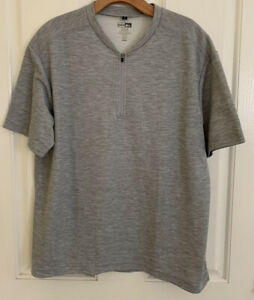 REI Cycling Jersey Shirt Short Sleeves 1/2 Zip Rear Pocket Men's Size M