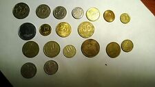 """OLD Vintage """" EUROPEAN  COINS """"Set of (19) Coins,from 4 Countries:PL,UA,HU,USSR"""