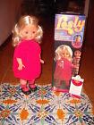 FURGA LESLY Leslie CANTA E CAMMINA RARA!! 70 POUPEE muneca vintage bambola doll