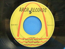 Tex Beneke & Russ David St. Louis Is My Home Town 45 Single Arch Records 9513