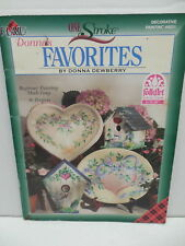 Donna Dewberry Favorites One Stroke Painting Acrylic Folk Art Guide Book
