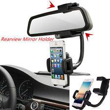 Rückspiegel Handy Halterung KFZ Auto Halter Navi Handy Iphone Samsung Holder
