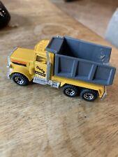 Matchbox 1981 Peterbilt Dump Truck - Made in Macau -