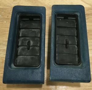 1981-87 Isuzu Pup Chevy LUV ~ Blue Louvered Vents 2.23 Diesel or Gas Engine