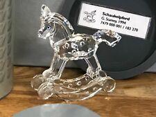 Swarovski Figur Schaukelpferd 6,8 cm mit Ovp + Zertifikat, Top Zustand.