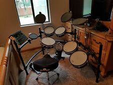 Roland TD-10 V-Drum Electronic Set | Double Bass | Throne