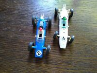 Vintage Scalextric C81 Lotus And C82 Cooper Racing Cars(Late 1960's) Very...