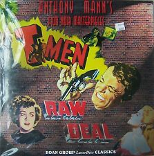 Anthony Mann's Film Noir Masterpieces: T Men / Raw Deal, Double Feature, New