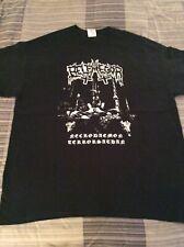 BELPHEGOR Necrodaemon Terrorsathan Shirt XL, Gorgoroth,Taake,Urgehal,Inquisition