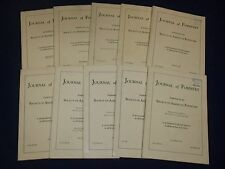 1939-1942 JOURNAL OF FORESTRY BY SOCIETY AMERICAN FORESTERS LOT OF 31 - O 1943