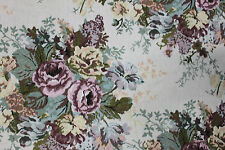 1 1/2 YARDS FLORAL TAPESTRY Upholstery Fabric Kimball 713 Floral Heavy Rose NEW