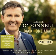 DANIEL O'DONNELL BACK HOME AGAIN BRAND NEW SEALED 2CD/ DVD