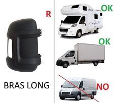 COQUE RETROVISEUR DROIT PASSAGER BRAS LONG PEUGEOT BOXER / CITROEN JUMPER / FIAT