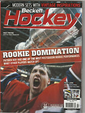 July 2014 Beckett Hockey Price Guide Patrick Roy Stanley Cup
