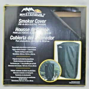NEW Masterbuilt MB20080210 Electric Smoker Cover 40 inch - Black Heavyweight