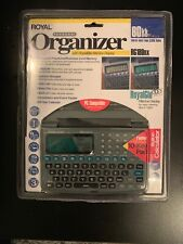Nip Royal Rg180nx Personal Organizer Calculator - 80kb Pc Compatible - Free S&H