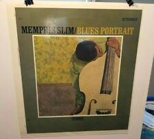 Memphis Slim - Blues Portrait Scepter Lp Slick Burt Goldblatt Collection Rare