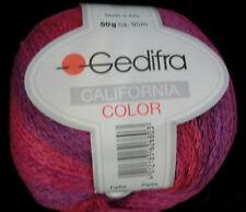 (99 €/ kg): 700 g California Color von Gedifra, Farbverlauf 3180 pink/lila #2107