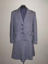 Women's Merona Black & White Jacket Skirt Outfit X-Large
