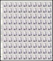 2189a, 52¢ Humphrey Shiny Gum Sheet of 100 Stamps CV $395.00 - Stuart Katz
