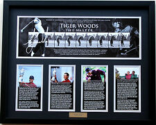 New Tiger Woods Signed Limited Edition Memorabilia