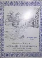 1969 Catálogo De Venta Drouot Bonitos Artes Libros Famosos Modernos