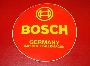"""Aufkleber """"Bosch"""" für Batterie KK 54 11 label"""