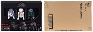 """Amazon Exclusives Star Wars BLACK SERIES 6"""" DROID 3 PACK."""