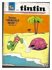 TINTIN N° 980 PUB TACOT JOKER 1967 BE